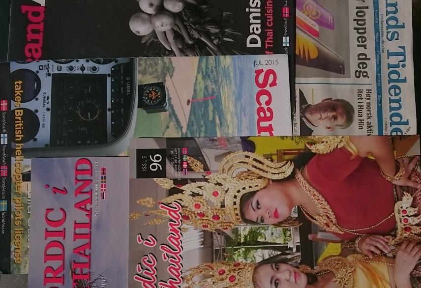 Norske blader og nettsteder om Thailand