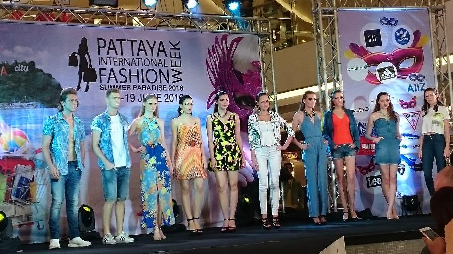 Moteoppvisning i Pattaya