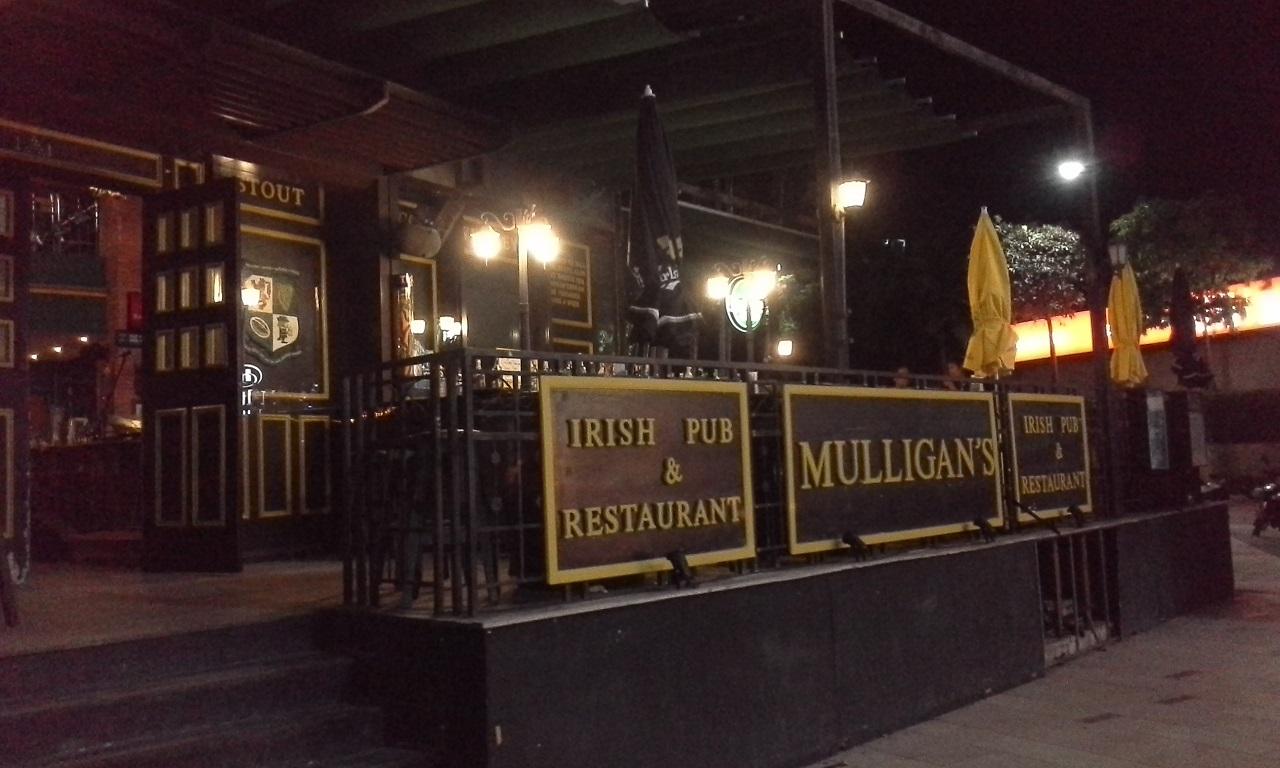 Middag på Mulligan's