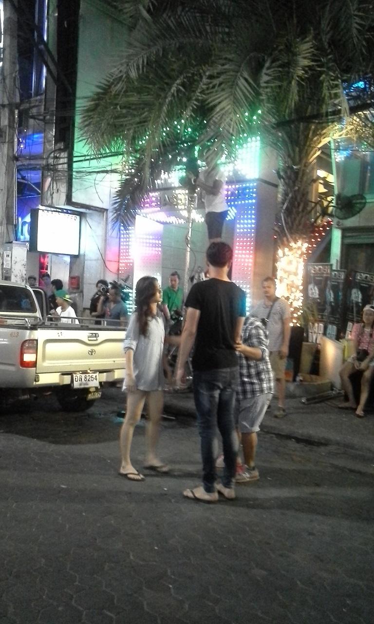 TV-innspilling i Walking Street