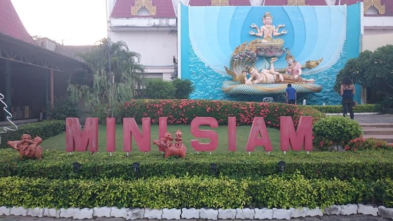 En miniatyrverden i Pattaya