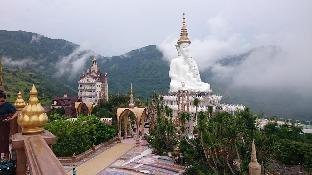 Fjelltur på Khao Kho