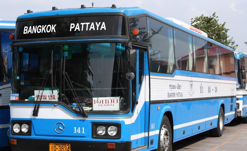 Transport mellom Bangkok, Pattaya og Hua Hin