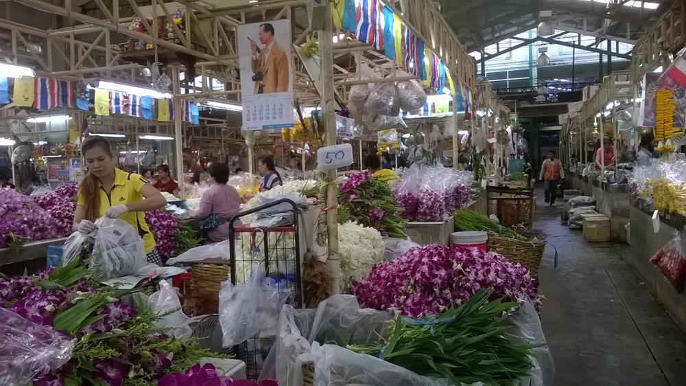 Yodpiman – Thailands største blomstermarked