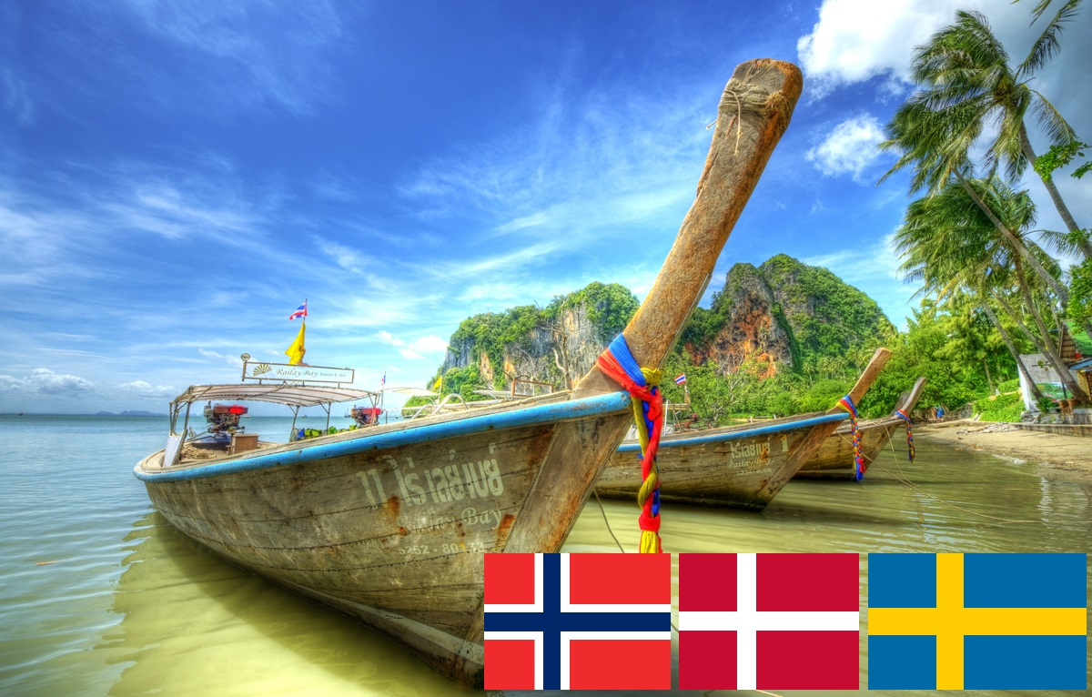 Skandinaviske steder i Thailand