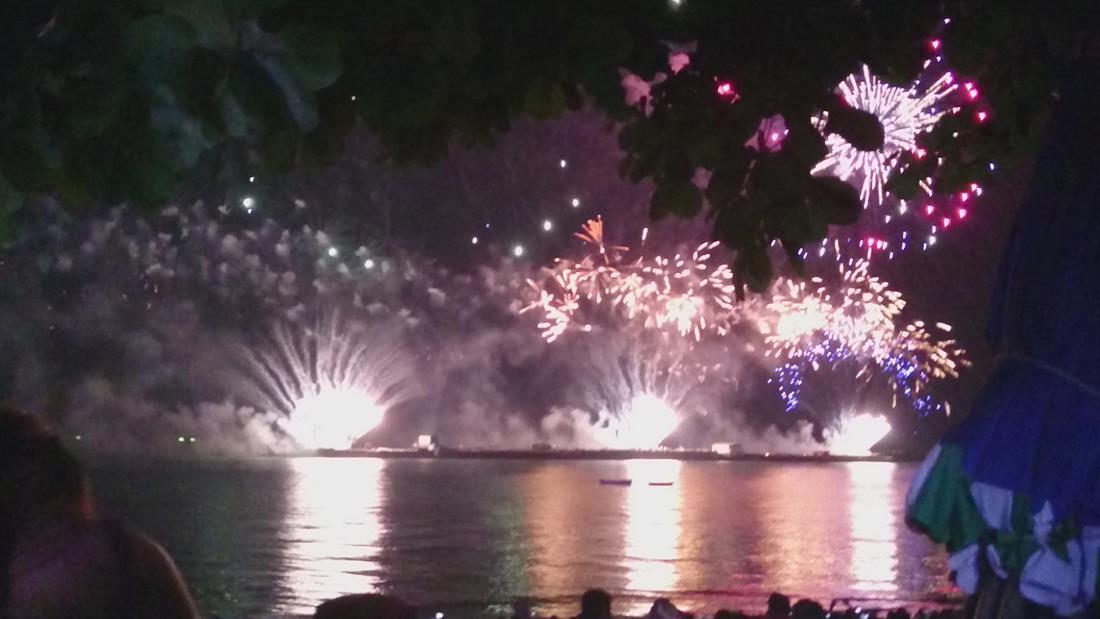 Fyrverkerifestivalen i Pattaya