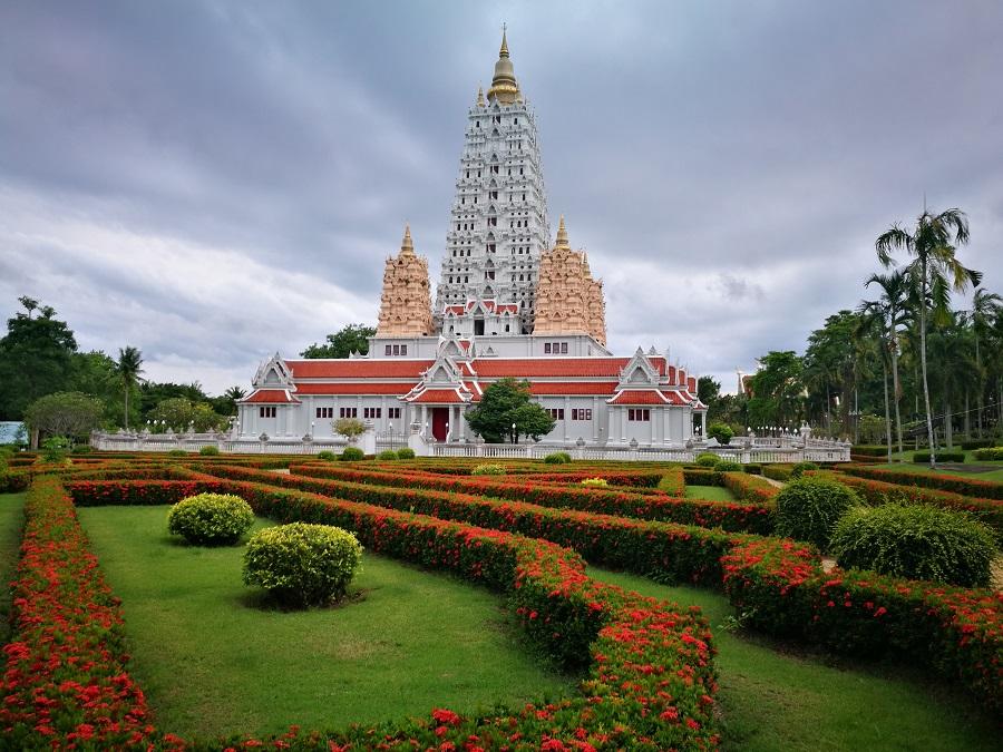 Det viktigste tempelet i hele Chonburi
