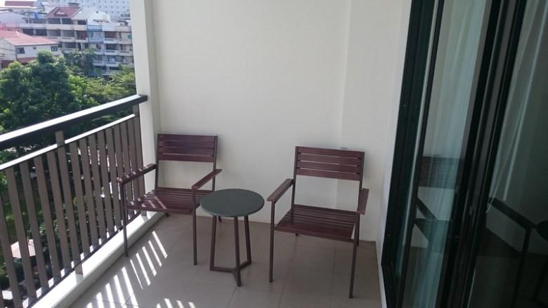 Balkong Fifth Hotel Jomtien