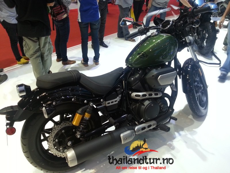 Yamaha Bolt Motorsykkel i Thailand